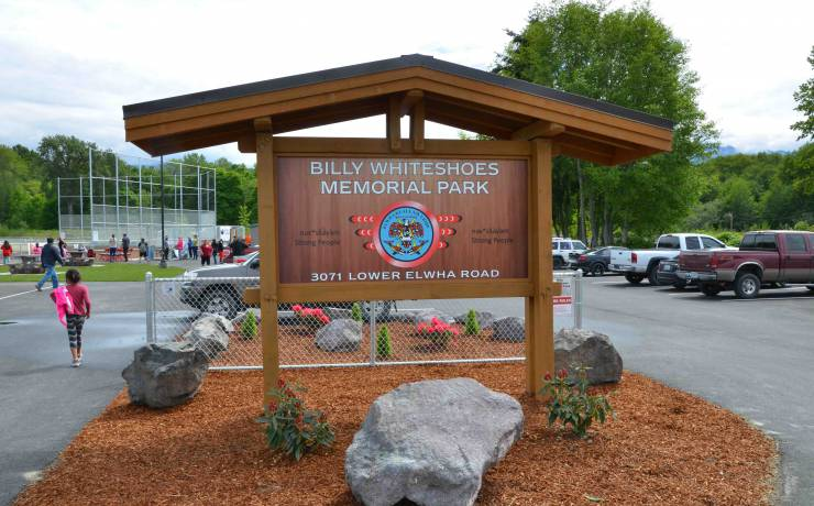 "Billy ""Whiteshoes"" Memorial Park – Lower Elwha"