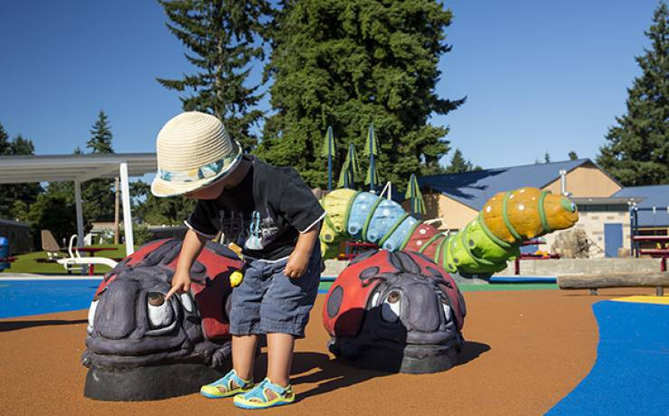 Meadow Crest Accessible Playground – Renton